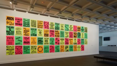 Kelly Doley: Things I have learnt about feminism, 2014.