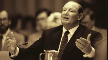Kerry Packer speaks at a parliamentary inquiry in Canberra in 1991. Packer won his battle with the Tax Office but most of us don't want to end up there in the first place.