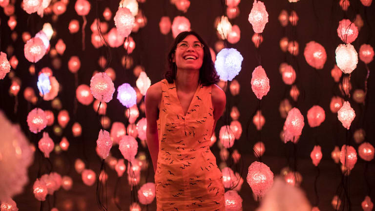 Pipilotti Rist's Pixelwald Motherboard has proved a magnet for Instagrammers.