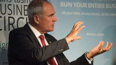 "NAB chairman Ken Henry said rebuilding trust in institutions will take ""a long time""."