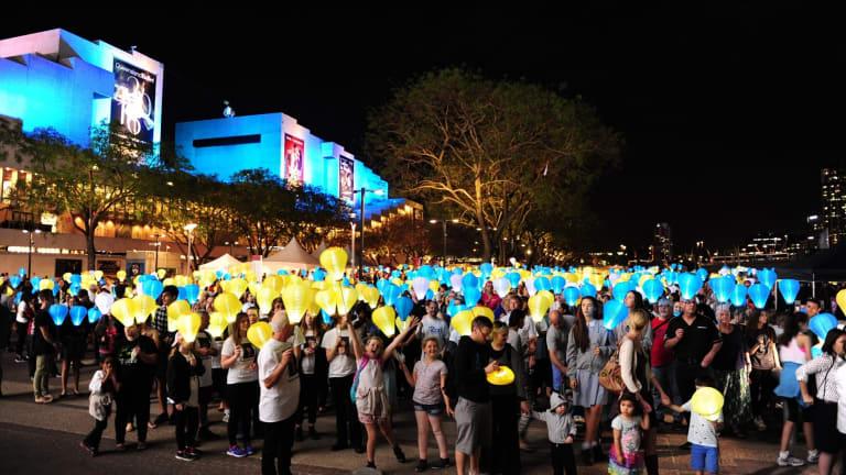The Leukaemia Foundation'€™s annual Light the Night Walk.