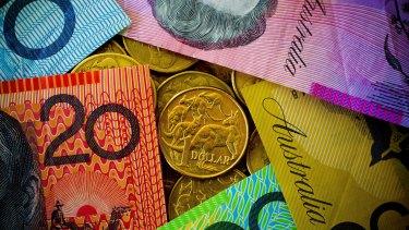 The Australian dollar is headed for further falls, according to Roubini Global Economics.