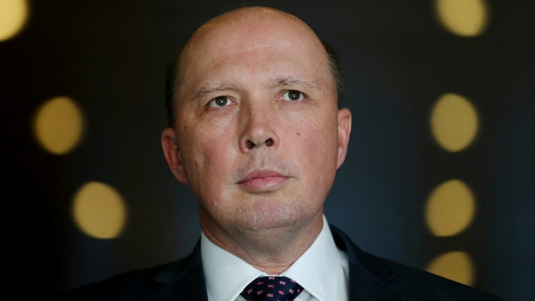 Home Affairs Minister Peter Dutton has broad control over Australia's national security agencies.