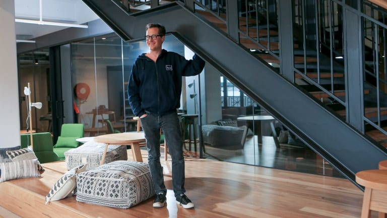 Brad Krauskopf, founder of Hub Australia, is a leading proponent of coworking in this country.