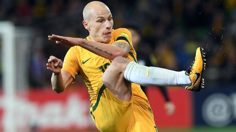 Australian star Aaron Mooy will be key in the Socceroos hopes of qualifying for the World Cup.