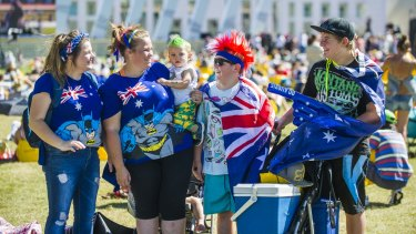 """Where are we supposed to gather in our thousands, waving silly little plastic flags and get all enthusiastic about being Australian?"""