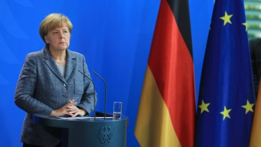 The German response 'can make us proud,'  ... German Chancellor Angela Merkel announced the nation was reallocating up to $9.6 billion to deal with the influx of migrants.