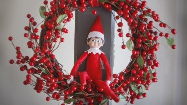 The popular Christmas toy 'Elf on the Shelf' loses its magic, according to the story, when it is touched.