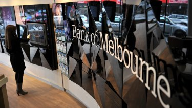 The Bank of Melbourne was caught up in a $1 million fraud.