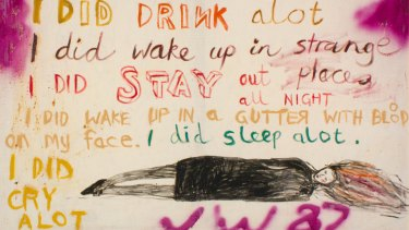 Jenny Watson's The Key Painting.