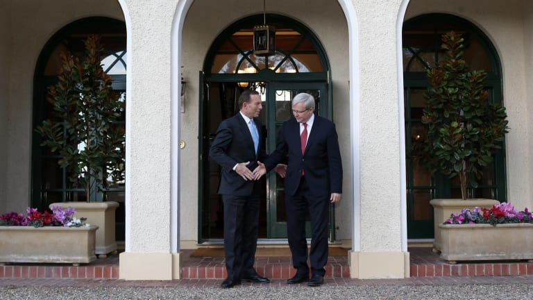 Former political foes Tony Abbott and Kevin Rudd have more in common than many think.