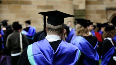 Four months after leaving university, 71.8 per cent of undergraduates are in full-time employment.