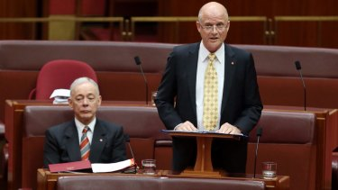 Senators Bob Day and David Leyonhjelm are pushing ahead with separate bills to amend or remove Section 18c.