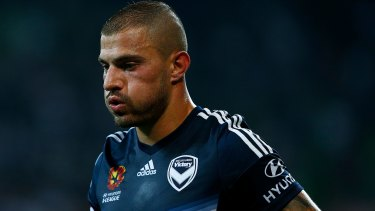 James Troisi, so often on the move during his career, will unlikely be at Melbourne Victory next season.