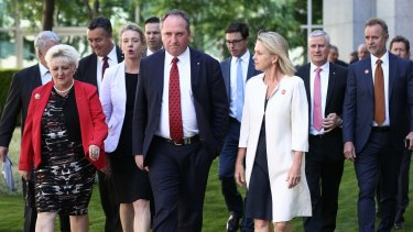 Deputy Prime Minister Barnaby Joyce and his Nationals colleagues lauded the deal on Monday but it was defeated in the Senate on Wednesday.