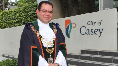 Casey councillor and mayor Sam Aziz is a devout Coptic Christian.