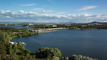 Lake Burley Griffin.
