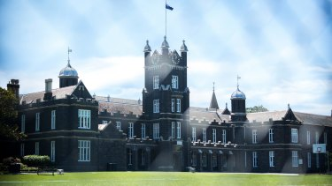 """Melbourne Grammar is one of Australia's most """"overfunded"""" private schools."""