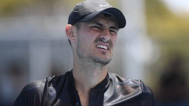 Needs to clear his head: Bernard Tomic spoke of feeling depressed on the reality show.