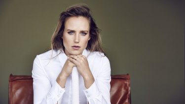 """Sportswoman Ellyse Perry: """"Dad taught us the basics in the backyard."""""""