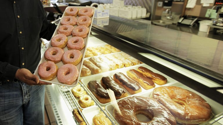 Trans fats are more likely to be found in processed foods including pastries, doughnuts and cakes at the cheaper end of the market.