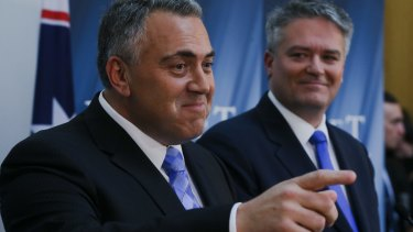 If Scott Morrison could go all cuddly, Joe Hockey could just about become Santa Claus.