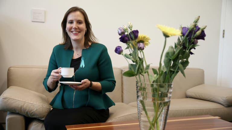 'I believe one of the best things we can do at this point is to have targets' ... Liberal MP Kelly O'Dwyer said her party needs to set measurable goals to increase its female representation.