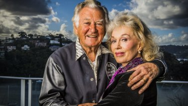 Former prime minister Bob Hawke says he has an 'arrangement' with wife Blanche d'Alpuget should he lose his presence of mind.