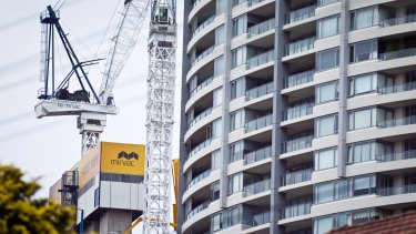 Apartments led a strong rebound in building approvals in October.