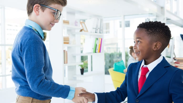 Teaching business skills with an ethical underpinning will help children in later life.