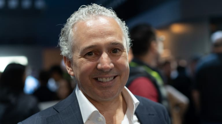 Telstra CEO Andy Penn says being at the Consumer Electronics Show in Las Vegas is essential for staying in touch with partners and suppliers.