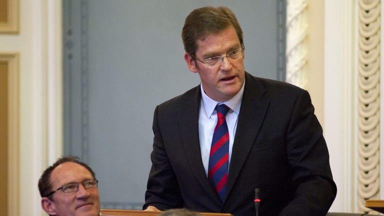 Former LNP state MP John McVeigh.