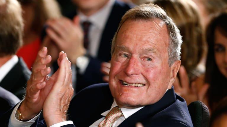 George H.W. Bush in 2013.