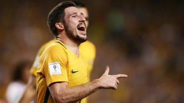 Rafinha knows from the Bundesliga that the Socceroos' Mathew Leckie can be a handful.