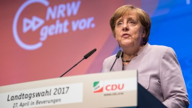 German Chancellor Angela Merkel is running for a fourth term this year.