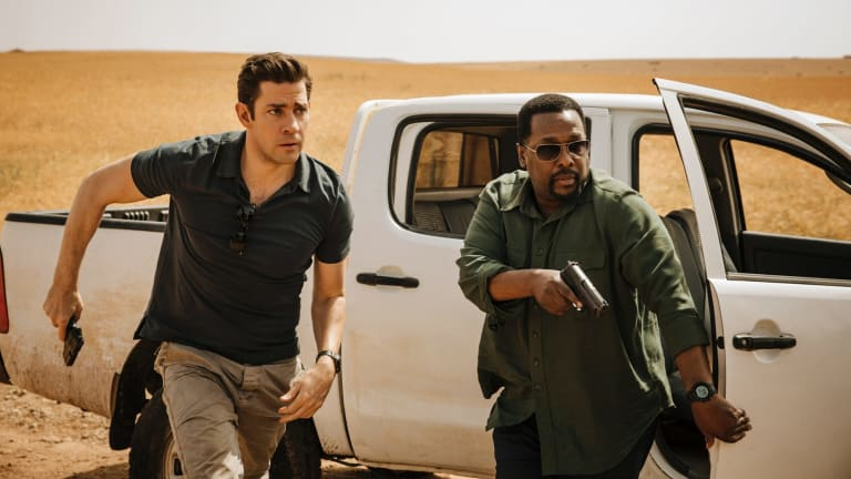 John Krasinski and Wendell Pierce in Tom Clancy's Jack Ryan.