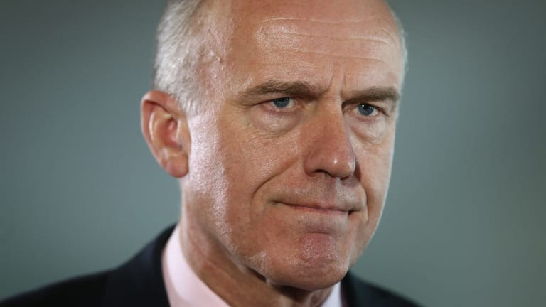 Not happy: Liberal senator Eric Abetz.