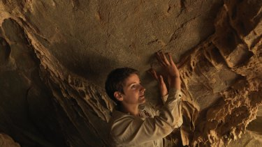 Researcher Katie Coleborn at Wombeyan Caves.