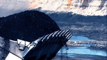 Hunter Valley open cut coal mine