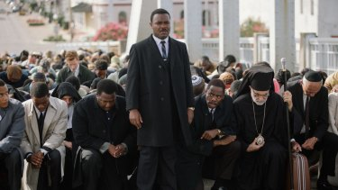 Seminal campaign: David Oyelowo plays Martin Luther King jnr in Ava DuVernay's new film <i>Selma</i>.