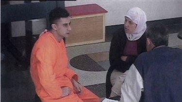 Gang rapist Bilal Skaf, left, in Goulburn jail.