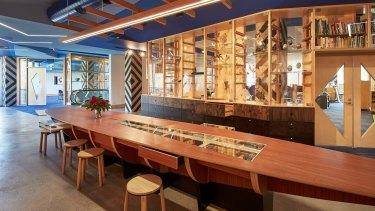 Koorie Heritage Trust Gathering table designed by Jefa Greenaway.