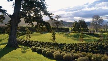 Restored beauty: NBW's Earthworks Garden, on Orango Station, New Zealand.