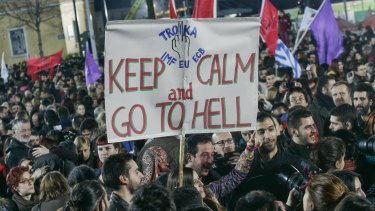 Greece faced a similar crisis in some ways.