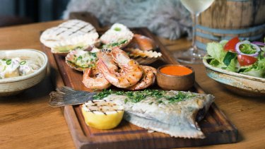 Hunter & Barrell's new seafood platter is exceptional  value.