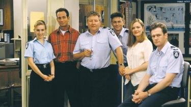 The Blue Heelers cast.