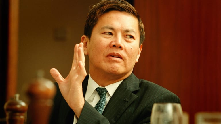 Talk to the hand: SingTel-Optus' new chief executive Allen Lew.