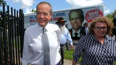 Opposition Leader Bill Shorten in Cairns on Monday.