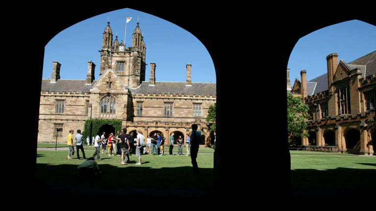 """The Group of Eight, which includes the University of Sydney and the University of Melbourne, have rejected the government's """"flagship courses"""" proposal."""