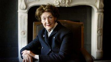 Expatriate Australian novelist Shirley Hazzard, author of <i>The Great Fire</i>.